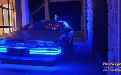 Anniversaire de mariage : La DeLorean à Cancale