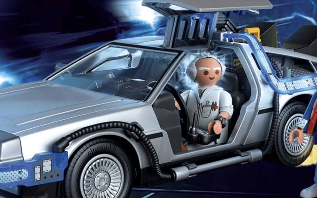 Delorean Playmobil : Retour vers le futur en miniature